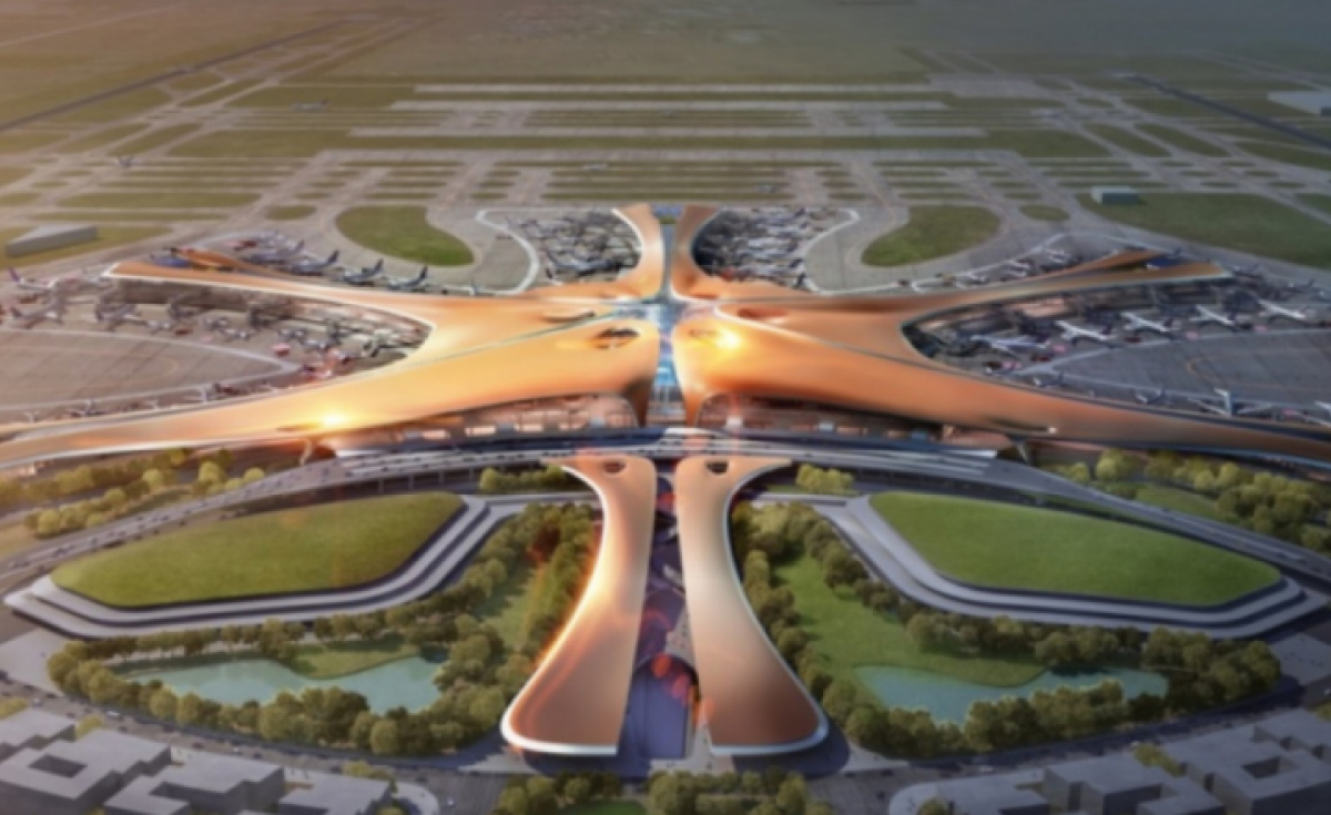 Daxing International cost the Chinese government $17 billion and replaces Nanyuan Airport.