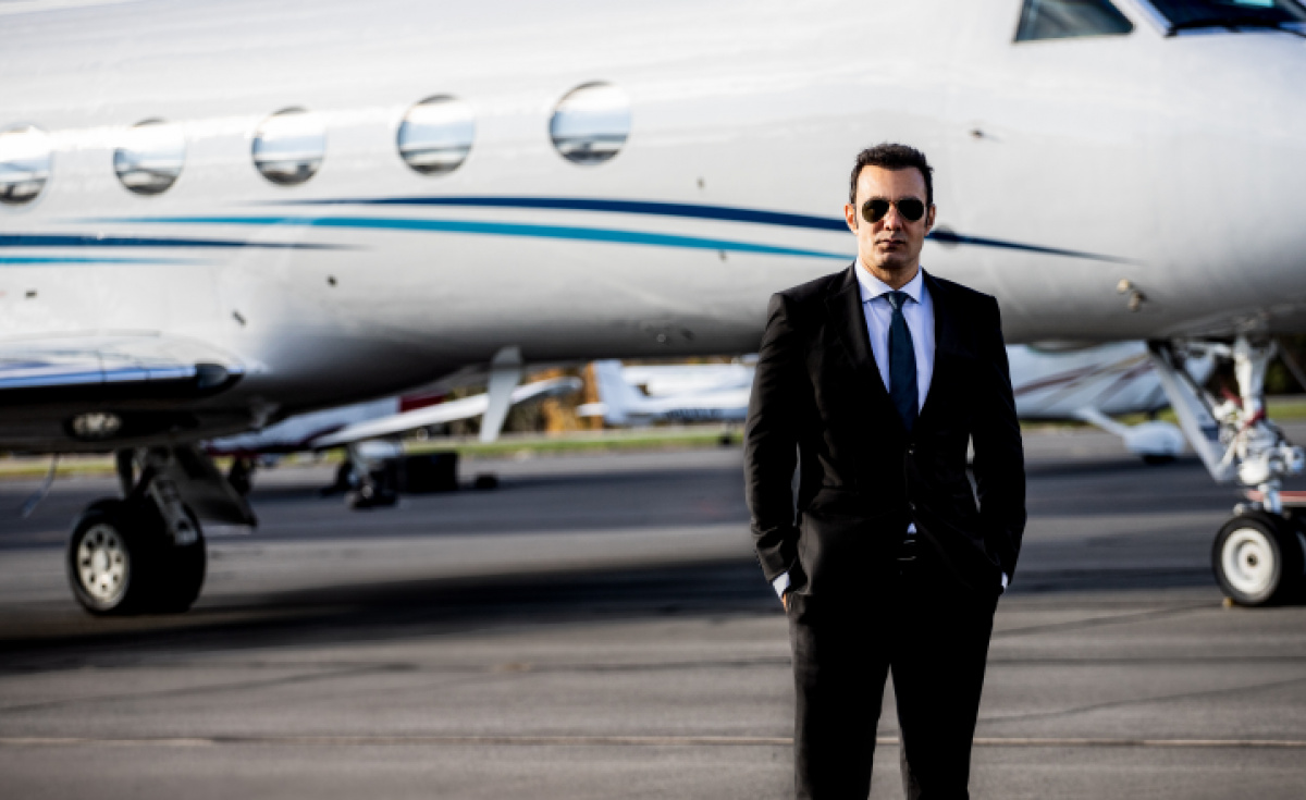 Richard Zaher, CEO of Paramount Business Jets, will open up his new tool to competitors.