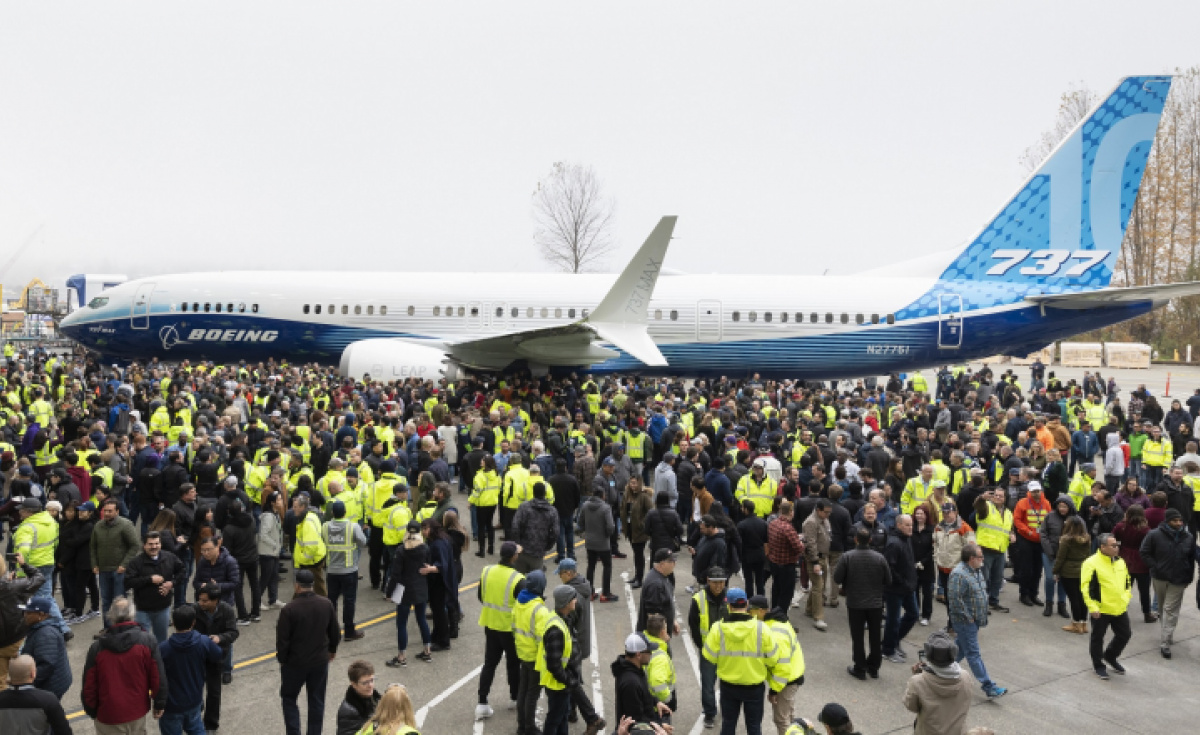 Boeing revealed its 737 Max 10 in November despite the ongoing grounding of the Max aircraft following two fatal crashes.