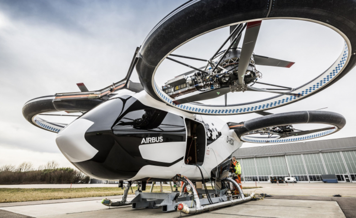 CityAirbus is one of the eVTOL vehicles Airbus is using as a testbed for electric aircraft.