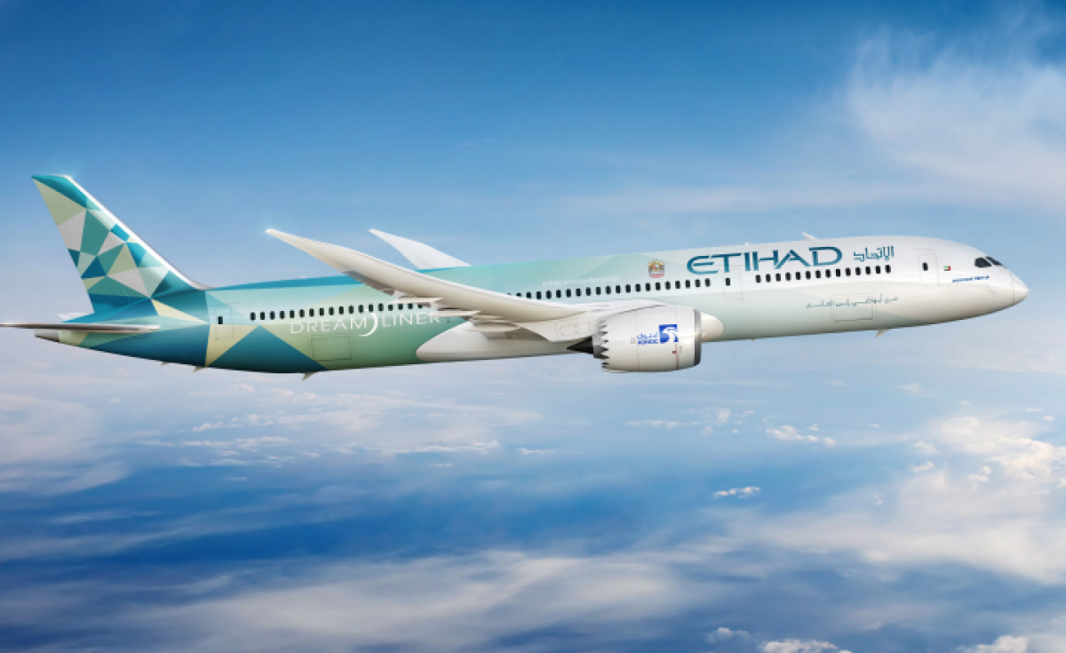 Etihad's Greenliner Programme is designed to act as a test bed for sustainable products and practises.