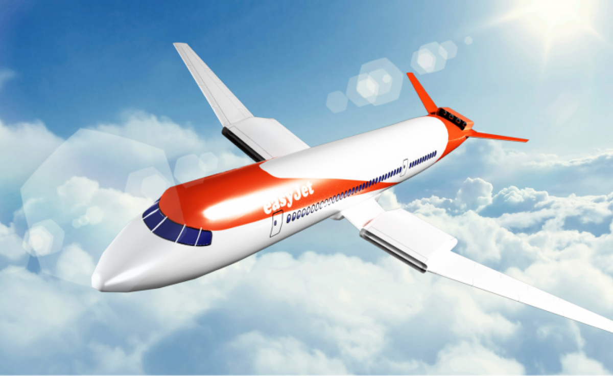 Easyjet, Wright 1, Wright Electric, Electric plane, Electric flight, Electric Aircraft