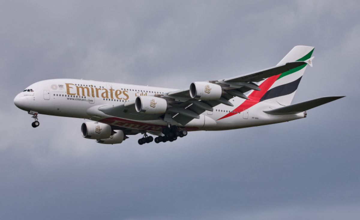 Storm Ciara, Emirates airline, A380 emirates
