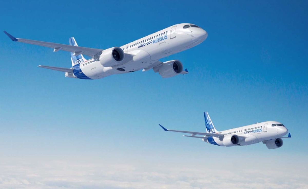Airbus, Airbus 220, A220, Bombardier