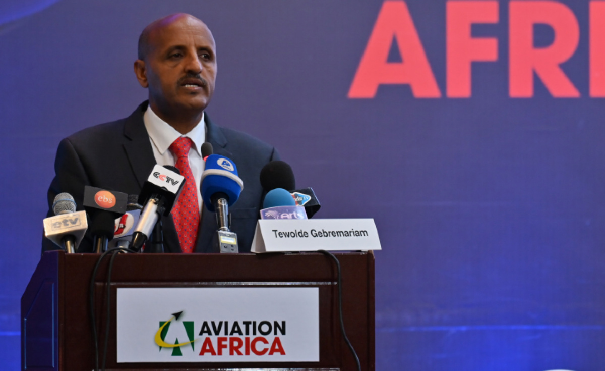 Tewolde GebreMariam. CEO, Ethiopian Airlines wants governments to adopt a more positive attitude to aviation on the African continent