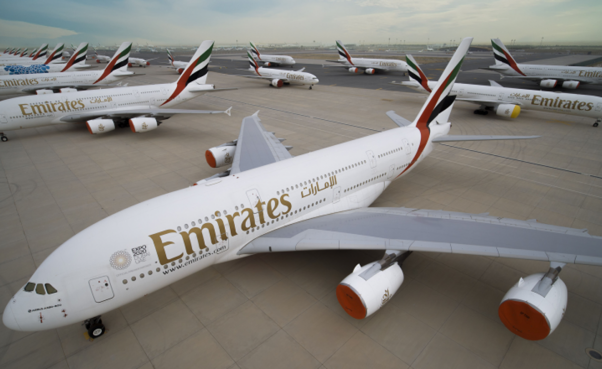 Emirates' A380 fleet has been grounded since the Covid-19 crisis struck, leaving hundreds of pilots without work.