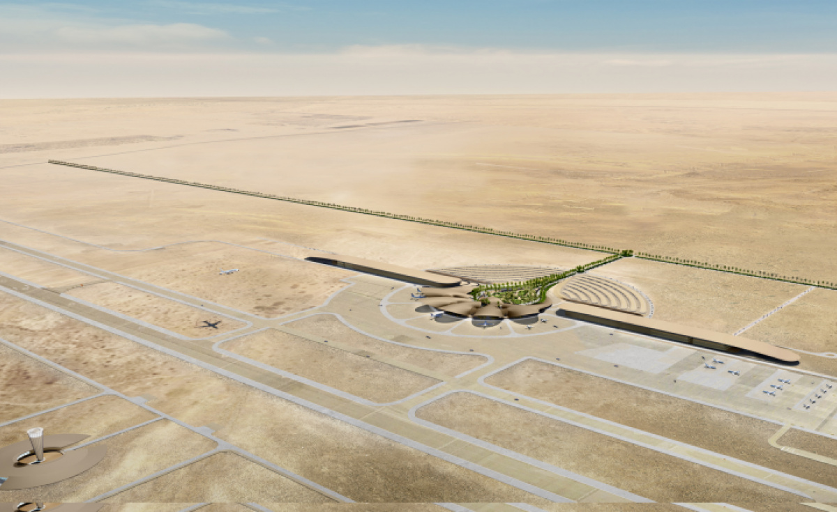 Red sea airport, The red sea international airport, The red sea development company, Airside, Airside contract